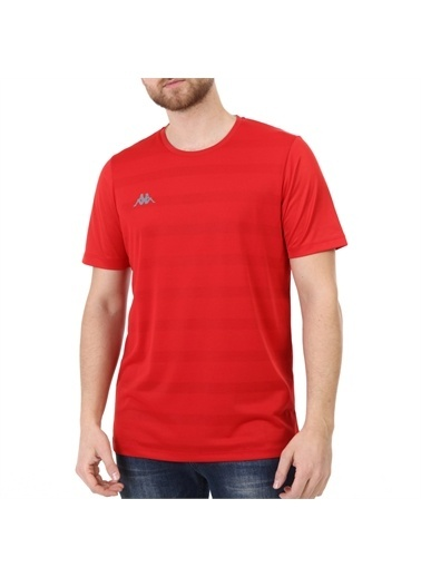 Kappa Poly T-Shirt Zaltal  Kırmızı